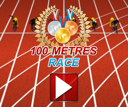 Play 100 Meter Race: Dash Game