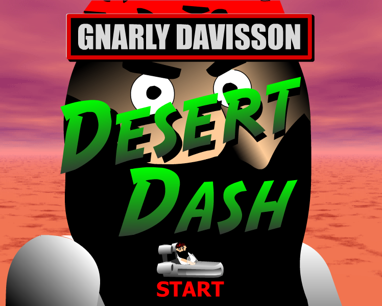 Play 3D Desert Dash Game