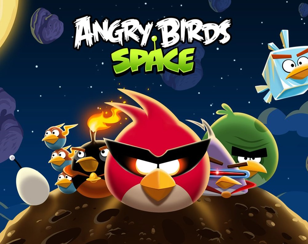 Play Angry Birds Space Game