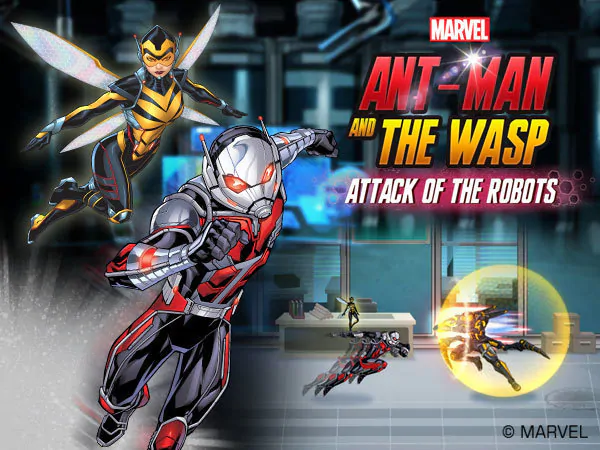 Play Ant-man And The Wasp: Attack Of The Robots Game
