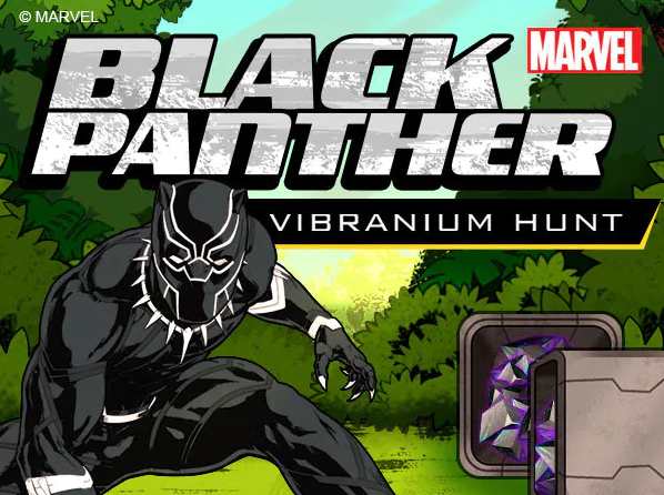 Play Black Panther: Vibranium Hunt Game