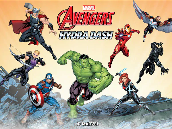 Play Avengers: Hydra Dash Game