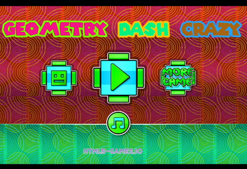 Play Geometry Dash Crazy Game