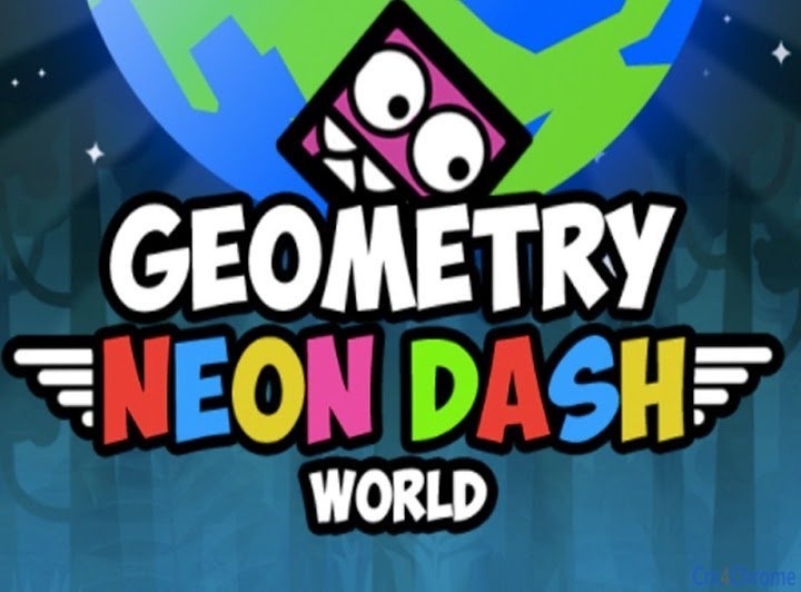 Play Geometry Dash Neon World Game