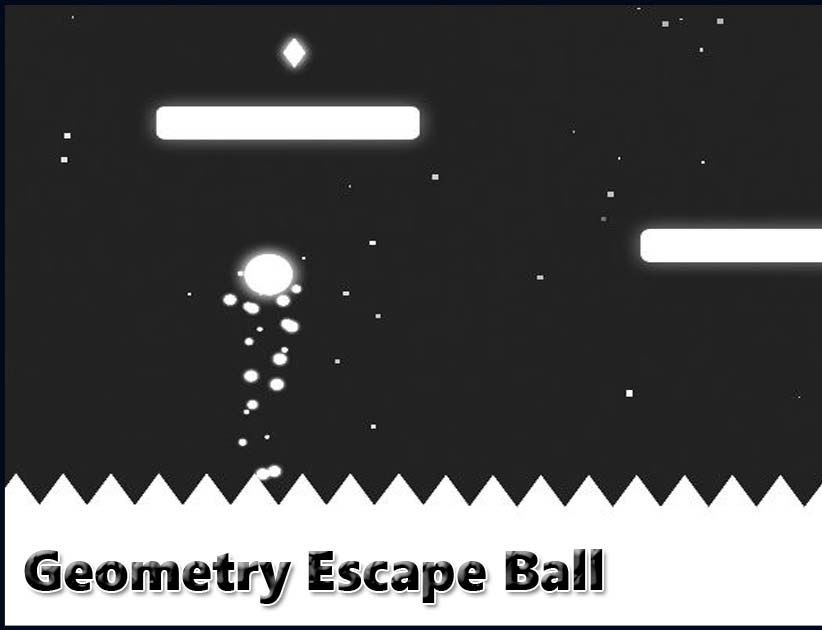 Play Geometry Escape Ball Game