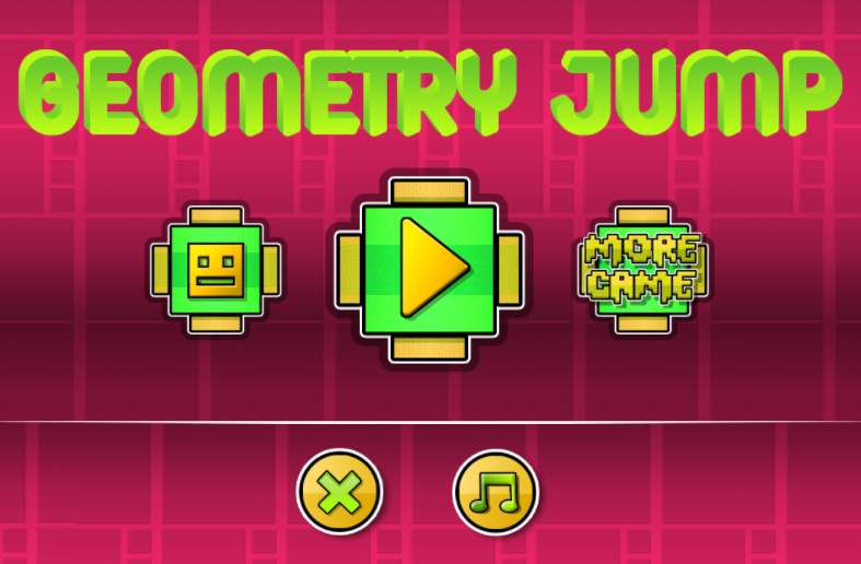 Play Geometry Jump Game