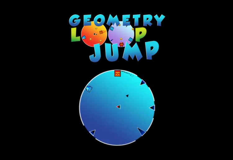 Play Geometry Loop Jump Game