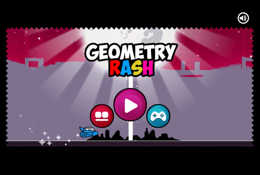 Play Geometry Rash Challenge Game