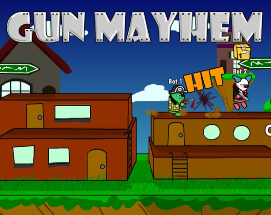 Play Gun Mayhem Game