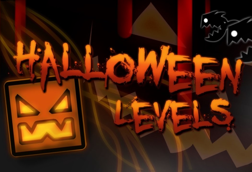 Play Halloween Geometry Dash Game