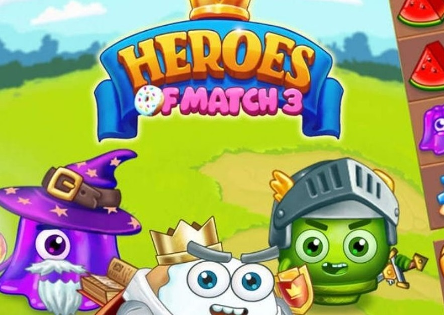 Play Heroes of Match 3 Game