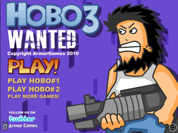 Play Hobo 3 Wanted Game
