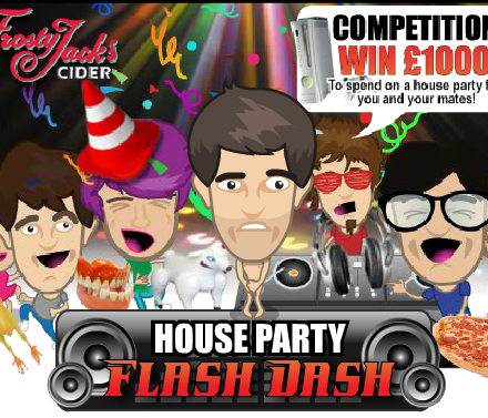 House Party Flash Dash