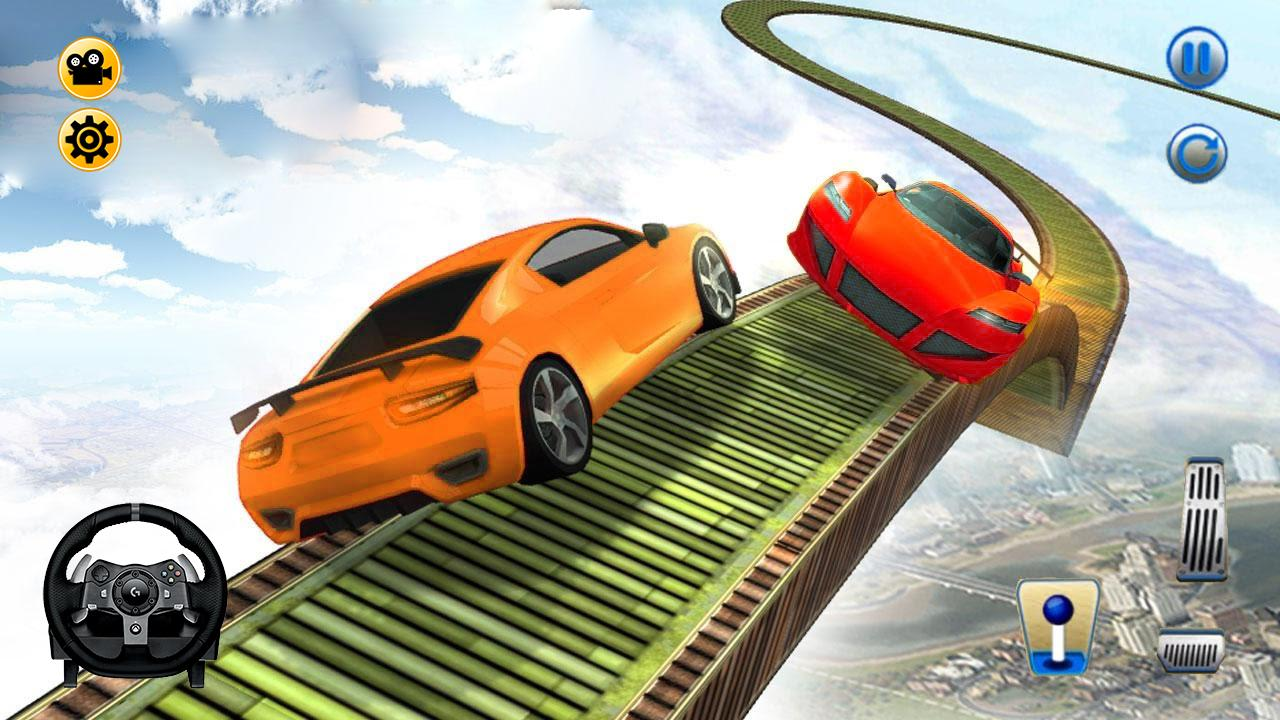 Play Impossible Car Stunt Game