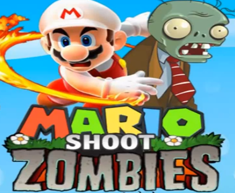Play Mario Shoot Zombies Game