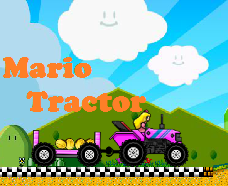 Play Mario Tractor Multiplayer Game