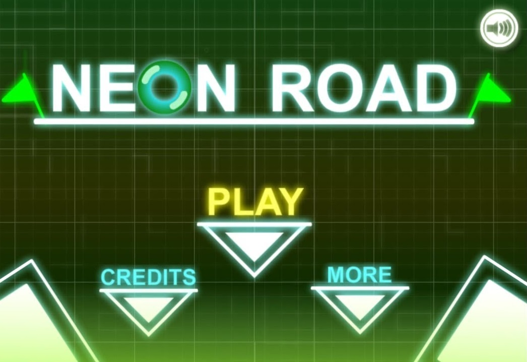 Play Neon Road Game