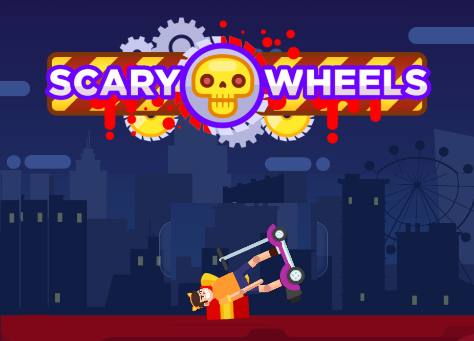 Play Scary Wheels Game