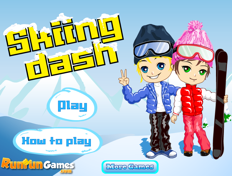 Play Skiing Dash Game