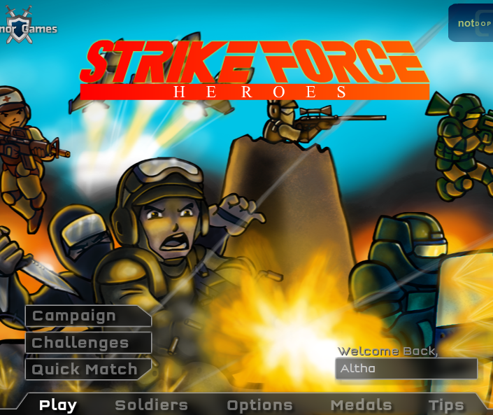 Play Strike Force Heroes Game