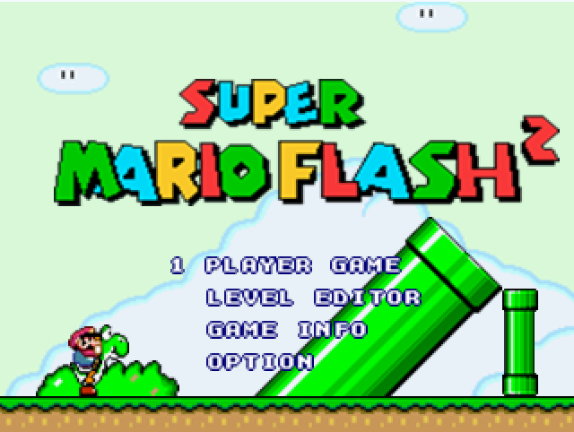 Play Super Mario Flash 2 Game