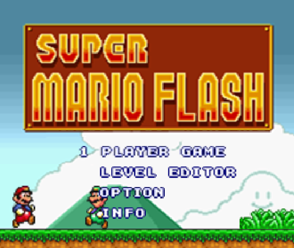 Play Super Mario Flash Game