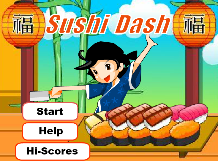 Play Sushi Dash	 Game