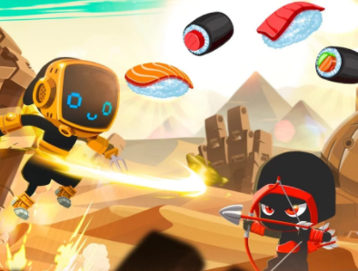 Play Sushi Ninja Dash Game